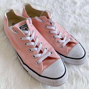 Converse All Star Pink Sneakers Size 10